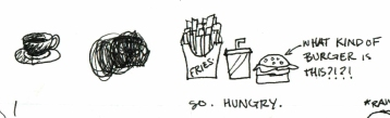 Doodle 27 Hungry for Fast Food